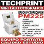Mini Lab Estudio Fotografico Epson Picturemate Profesional