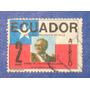 Estampilla Ecuador Visita Presid Chile Salvador Allende 1971 segunda mano  Lima