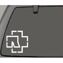 Stickers Rammstein Autos Camionetas Motos Mde