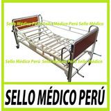 Cama Clinica Hospitalaria Dos Manivelas Ruedas Frenos ºº