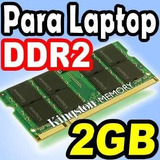Memorias Ram Ddr2 2gb Laptop