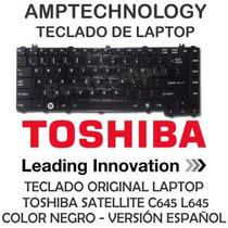 Teclado Laptop Toshiba Satellite C600 C640 C645 L645 Matte
