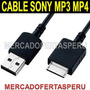 Cable Usb Mp3 Mp4 Sony Wmc-nw20mu Series Nwz Nw
