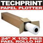 Rollo Papel Bond 24 X 150' Para Ploter 67 Cm X 45 Mt 80 Gr