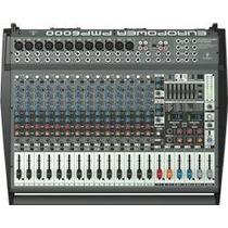 Consola Pmp6000 1600 Watts 20 Canales Behringer Dos Efectos