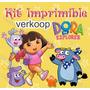 Kit Imprimible Dora La Exploradora Invitaciones Tarjetas