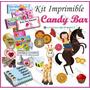 Kit Imprimible Candy Bar Golosinas Personalizadas De Fiesta