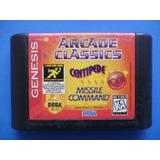 Cartucho De Sega Genesis, Arcade Classics