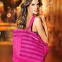 Victorias Secret Oferta Bolso De Playa Fucsia Con Lentejuela