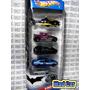 Mc Mad Car Hot Wheels Pack 5 Batman Batimovil Batmobile