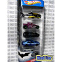 Mc Mad Car Batman Batimovil Pack 5 Autos Hot Wheels 1:64