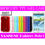 Funda Gel De Silicona Mercury Samsung Galaxy Note 2 Ii N7100