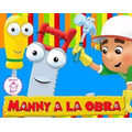 Kit Imprimible 1 Manny A La Obra Diseñá Tarjetas Cotillon