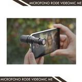 Rode Videomic Me Micrófono Para Smartphones Y Iphones
