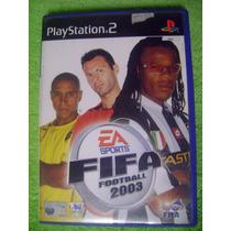 Ps2 Fifa Soccer Football 2003 Para Playstation 2 Como Nuevo