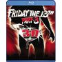 Blu Ray Viernes 13 3ra. Parte 3d - Stock - Nuevo -sellado