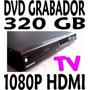 Grabador De Dvd Con Disco Duro 320gb Graba Tv Programable Hd