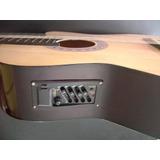 Guitarra Electroacustica Importada Eq. De 4 Bandas D-carlo