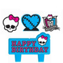Monster High - Velas Para Fiesta Infantil