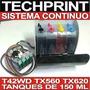 Sistema Continuo T42wd Tx560wd Tx620fwd 600 Ml De Tinta