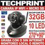 Nueva Camara Seguridad Ip Wifi Funciona Con O Sin Internet