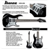 Guitarra Electrica Ibanez Gio Grg250  D-carlo