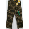 Lee Pantalon Cargo Camuflaje Para Niños Tallas Desde 2 - 7