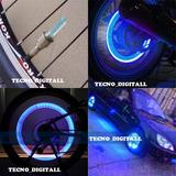 02 Luces Led Para Llantas De Autos, Motocicletas-bicicletas