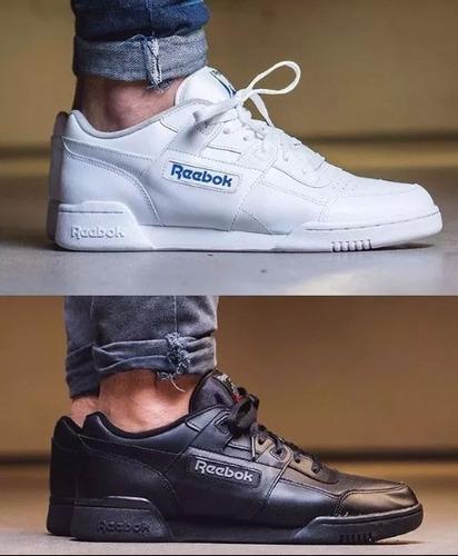 Zapatillas Reebok Clasicas Negras
