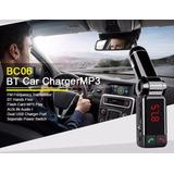 Receptor Bluetooth Transmisor Fm Cargador Auto Radio Llamada