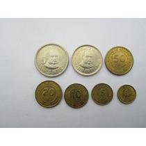 Colección De Monedas Serie Completa Intis Lima-perú