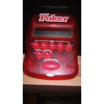 Juego De Poker Electronico De Bolsillo