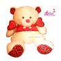 Oferta Peluche Grande Corazon Regalos Amor Delivery Gratis