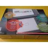 Nintendo New 3ds Xl Nuevo En Caja + Cargador 220 V (fortum)