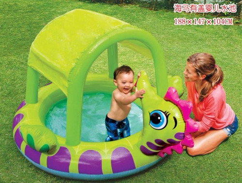 Piscina caballito inflable playa ni os jardin s 93 sxc7y for Piscina inflable ninos