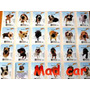 Mc Mad Car Coleccion Completa The Dog 48 Stickers Canes
