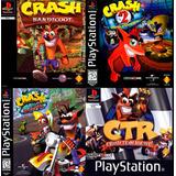 Crash Bandicoot 1, 2, 3 + Crash Team Racing Ps3 Español Gcp