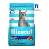 Ricocat Adult Atun Sardina Trucha 9 Kg Alimento Cat Delivery