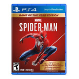 Spiderman Game Of The Year Edition Playstation 4