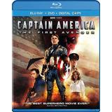 Capitan America Blu Ray Captain The First Avenger 100% Nuevo