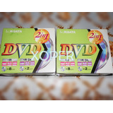 Dvd  Ridata10 Unidades // 8.5 Gigas X 2  // 4.7 Gigas X 8