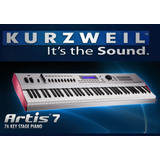Kurzweil Artis 7 Piano Digital Teclado Sintetizador 76 Tecla