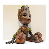 Baby Groot - Elaborado Por Impresión 3d, 15.5cm