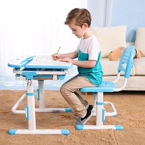 Escritorio ergonomico para estudio con silla para ni os as - Sillas para estudio ...