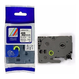Cinta Compatible Tze241 De 18mm X 8mts Para Brother P-touch