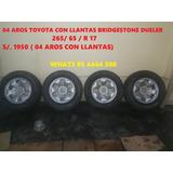 Aros 17 Toyota Con Llantas