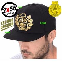 b185ace8d245d Gorra Plana Escudo Peru Bordado Gorro Snapback en venta en San ...