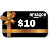 Amazon Gift Card, $10 Dólares Tarjeta De Regalo