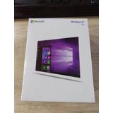 Window 10 Pro Retail 32/64 Bits Caja Sellada Ingles