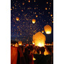 Lámparas Aerostáticas. Luces Voladoras. Navidad, Celebración